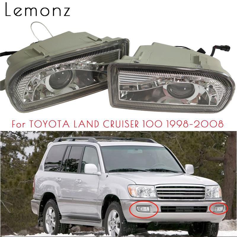 LED luz antiniebla del parachoques delantero para TOYOTA LAND CRUISER 100 Land Cruiser 100, 1998-2008, 4700 LC100 UZJ100 FZJ100 HDJ100 lámpara