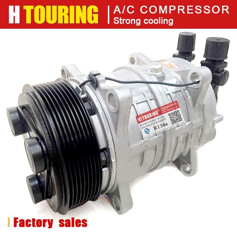 TM15 TM16 nuevo AC A/C/compresor de aire acondicionado de Thermo King Hubbard 8PK 24 V/12 V