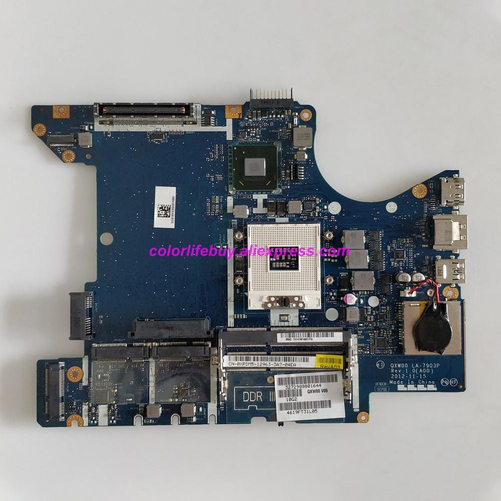 حقيقي CN-0XPDM5 0XPDM5 XPDM5 QXW00 LA-7903P QM77 اللوحة الأم للكمبيوتر المحمول اللوحة الرئيسية لأجهزة الكمبيوتر المحمول Dell Latitude E5430
