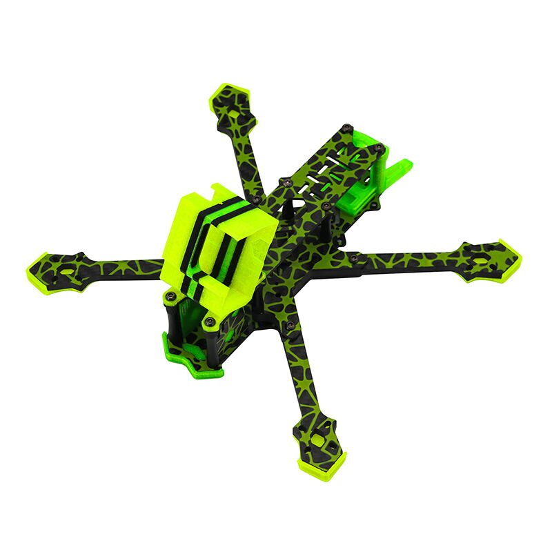 TCMMRC 5 frame Metsaema215 frame drone camouflage new product FPV drone frame RC Quadcopter kit