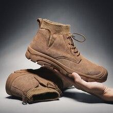 Plus rozmiar 48 moda męska buty buty w stylu casual dla mężczyzn wysokiej jakości buty sportowe męskie wygodne botki człowiek Zapatillas Hombre