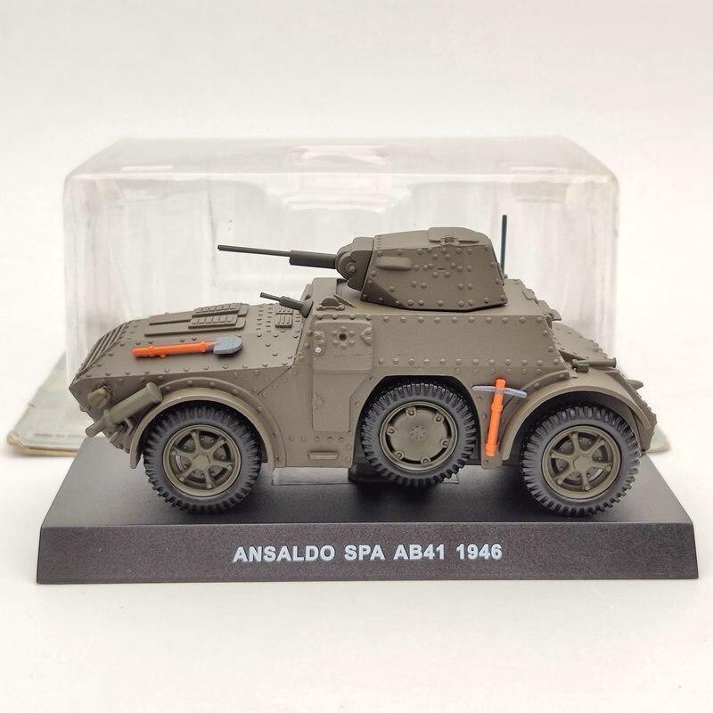 143 ansaldo spa ab41 carabinieri 1946 diecast modelos brinquedos verde militar
