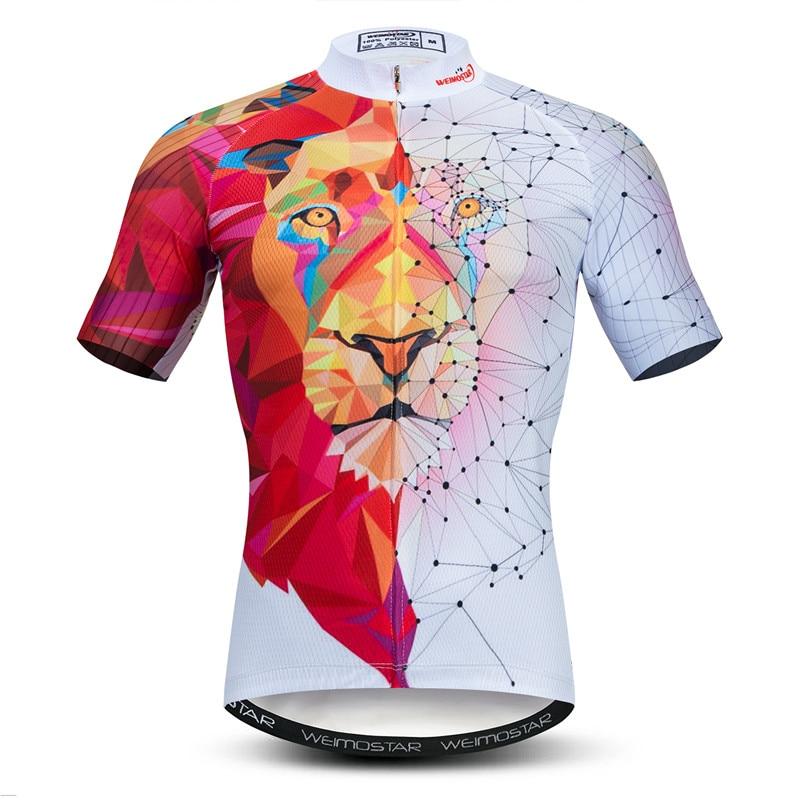 Weimostar-Camiseta de ciclismo 3D para hombre, ropa de manga corta con un...