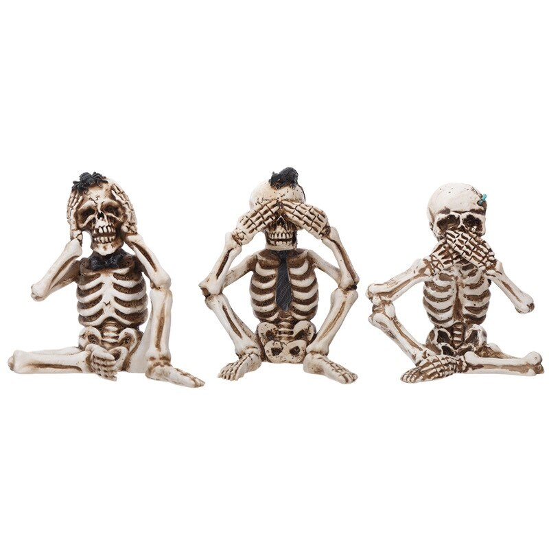 2021 new Halloween Skeleton Ghost Skeleton Halloween Decorations Props Haunted House Secret Holloween Party Home Decor