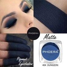 PHOERA 12 Colors Matte Eye Shadow Powder Pigment Make Up Nude Long Lasting Bright Eyeshadow Makeup Waterproof For Winter TSLM2