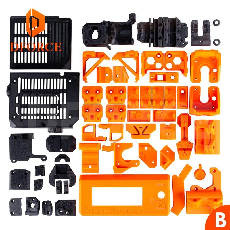 D-FORCE PETG المواد كامل المطبوعة أجزاء ل DIY Prusa i3 MK3 الدب ترقية 3D طابعة لا pla المواد