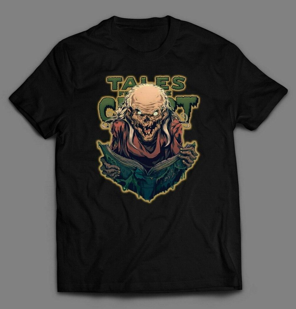 TALES DE LA PELÍCULA CRYPT THE KEEPER camiseta muchos tamaños Camiseta estilo redondo