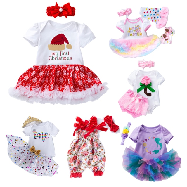 19-22 Inch Fashion Designed Baby Dolls Clothes With Hairband Fit For 50-58cm Reborn Doll Toys High Quality DIY Doll Accessories