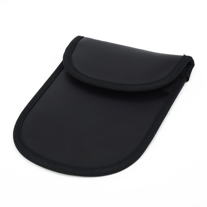 1 carro chave de sinal bloqueador fob bolsa caso keyless rfid bloqueio saco faraday gaiola f