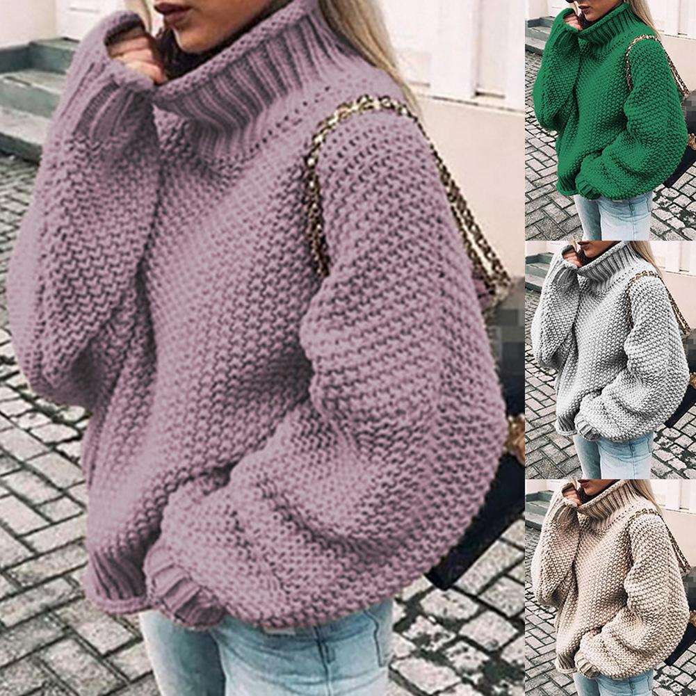 Outono inverno camisola feminina moda branca básica feminina pulôver manga batwing camisola sólida casual malha streetwear