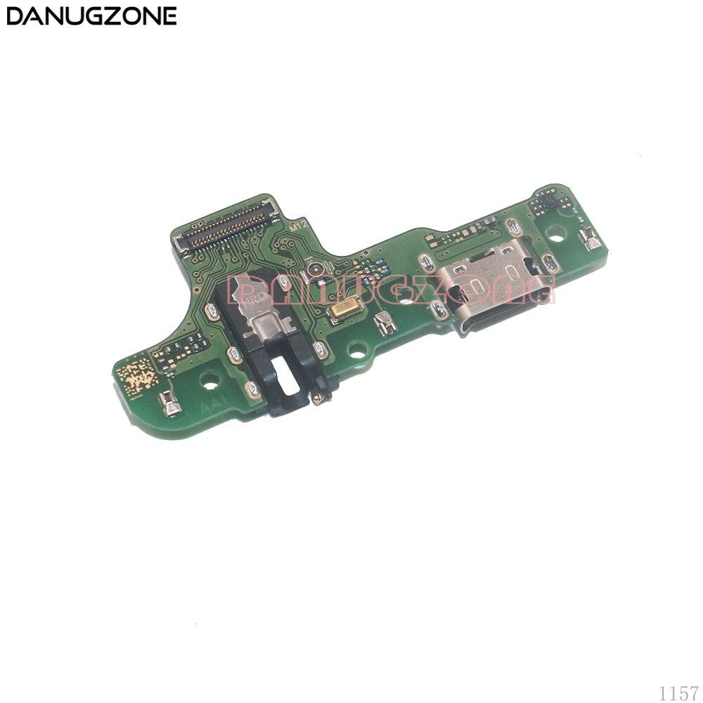 10 unids/lote para Samsung Galaxy A20S A207 A207F SM-207F puerto de carga USB enchufe para clavija Puerto conector placa de carga Cable flexible