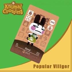 253 animal crossing amiibo cartão genji amiibo cartão animal crossing série 3 genji nfc cartão trabalho para ns jogos dropshipping