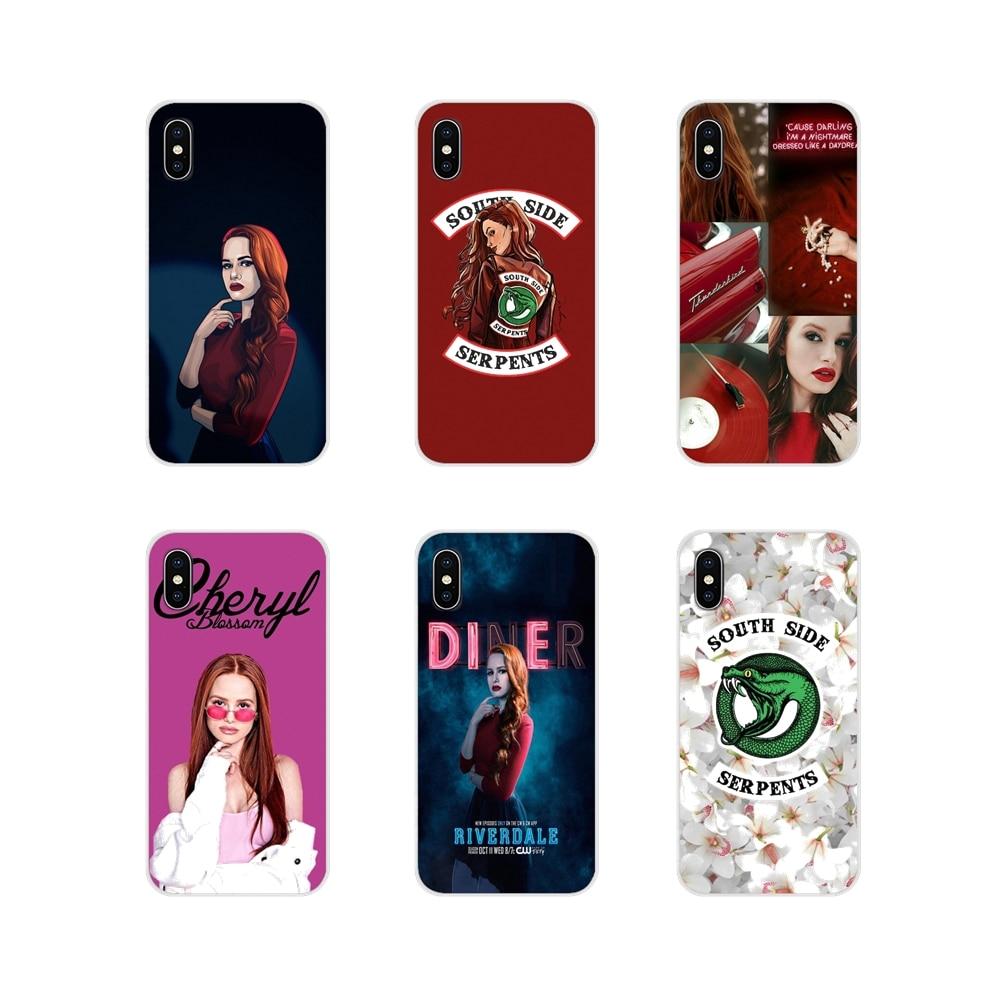 Аксессуары, чехлы для телефонов, чехлы для телевизоров riversale cheryl blossom для Xiaomi Redmi 4A S2 Note 3 3S 4 4X5 Plus 6 7 6A Pro Pocophone F1