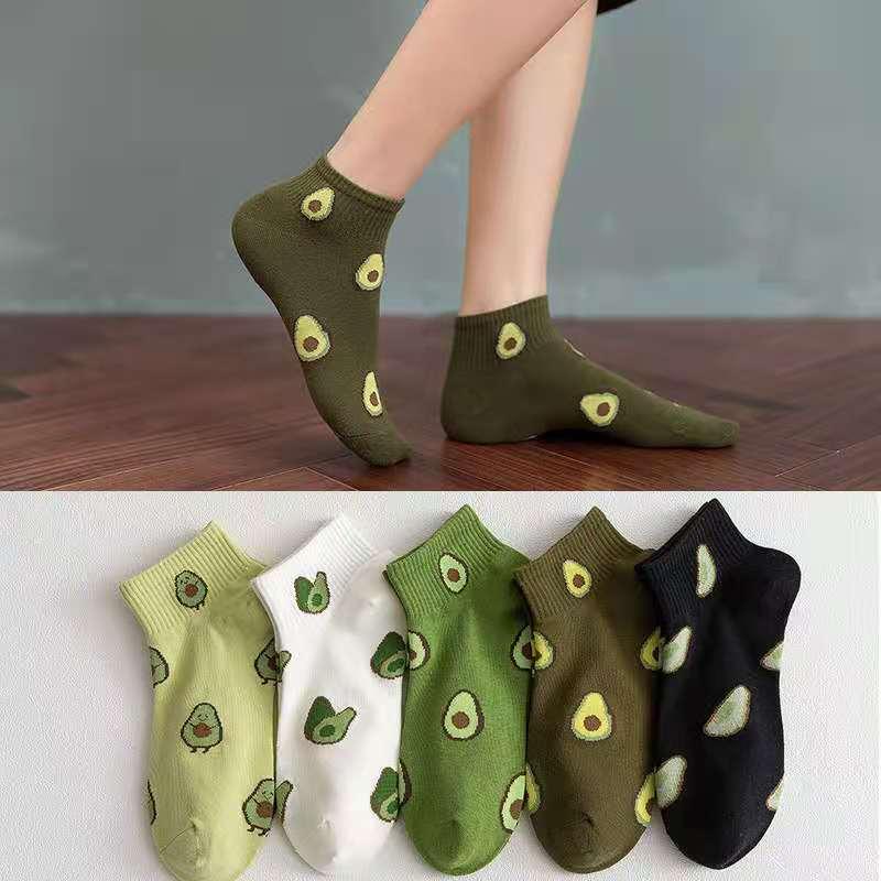 5 pares lote harajuku smiley face algodão casual engraçado bonito meias femininas carta doce cor romance hip-hop animal impressão meias