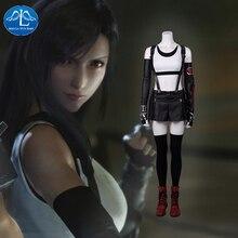 Manluyunxiao Final Fantasy VII Remake Tifa Lockhart Jeu Costume Femmes Cosplay Halloween Vêtements Personnaliser pour les femmes