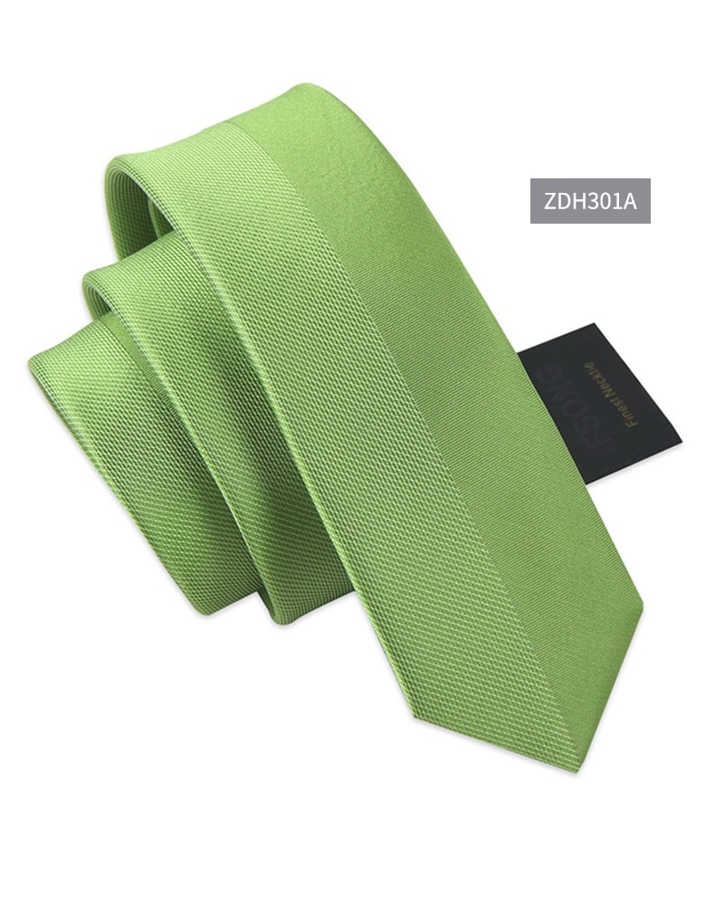 High Quality 2019 New Designers Brands Fashion Business Casual 5cm Slim Ties for Men Striped Necktie Formal Work with Gift Box