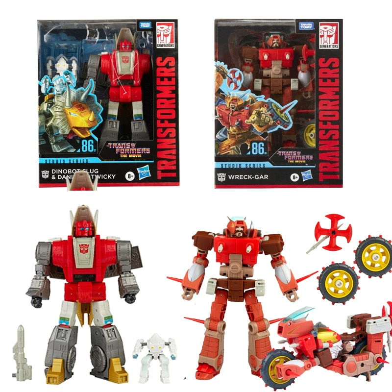 Hasbro Transformers SS86 Wreck-Gar Slag Daniel Witwicky The Movie Studio Voyager Series Action Figures Model Robot Toy