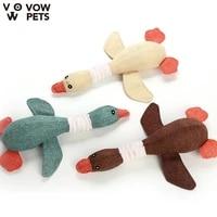 pet toy dog toys new linen voice geese molar bite resistance animal plush toys wholesale 2021 new vow pets