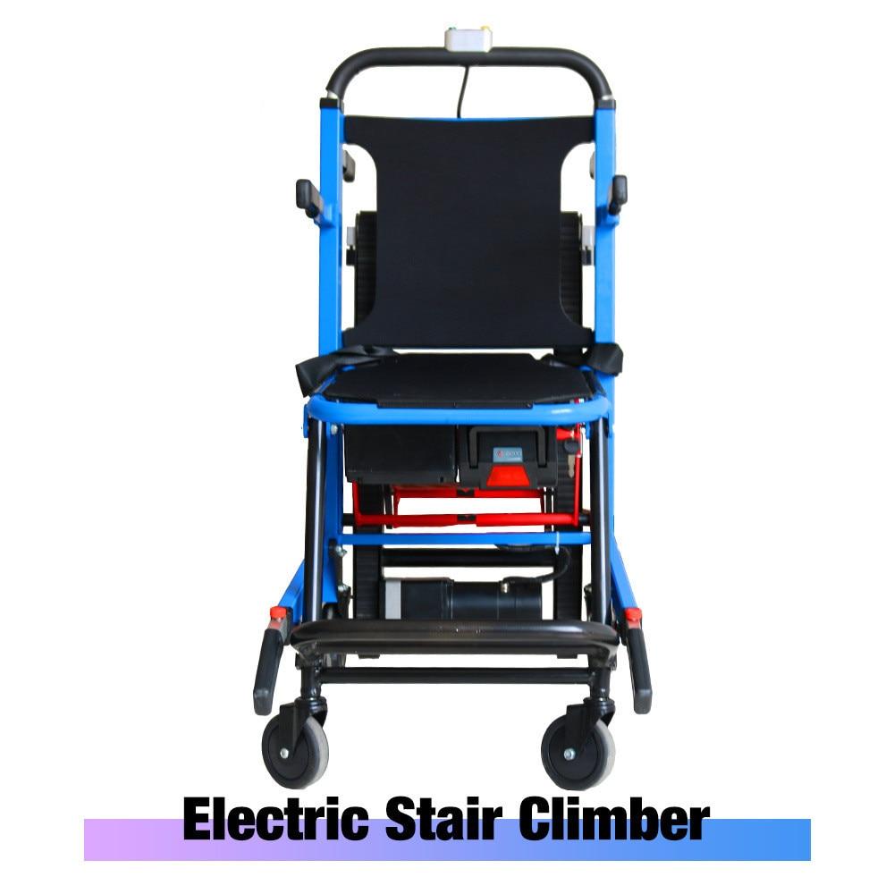 Equipamento médico-maca elétrica da escada-cadeira de rodas dobrável maca da escada-tipo esteira rolante escalada cadeira de rodas