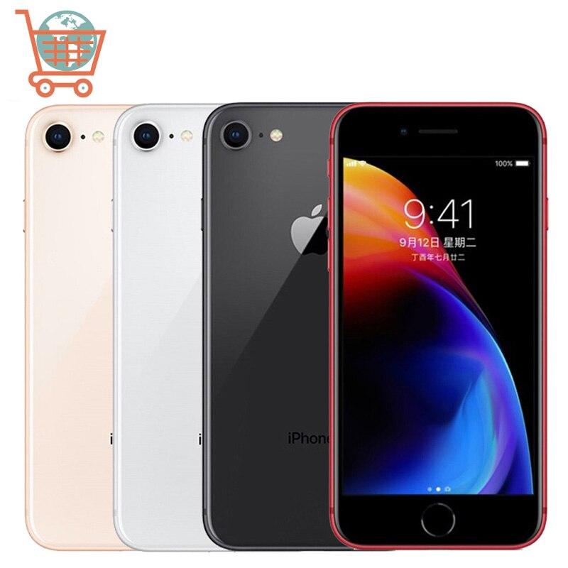 Unlocked Apple iPhone 8 8P 64GB/256GB Hexa-core iPhone 8 Plus IOS 3D Touch ID 12.0MP 4.7 inch IOS Apple Mobile phone