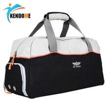 Grand sac de sport multifonctionnel chaud avec des chaussures poche hommes formation épaule Bolsa femmes Fitness voyage en plein air sac à main