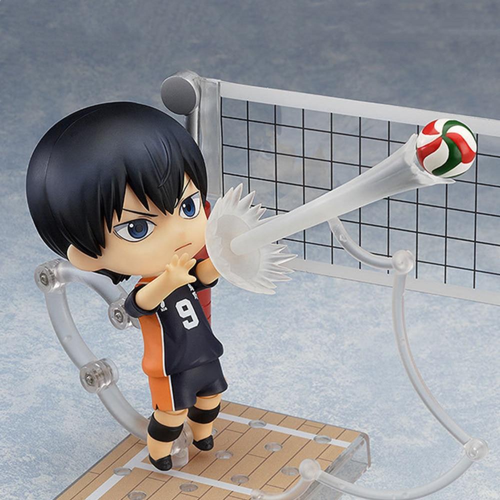 Haikyuu Kageyama Tobio #489 Action Figure Number 10 Anime Figurine Hinata Syouyou Cute Toys For Child Sport Model Doll