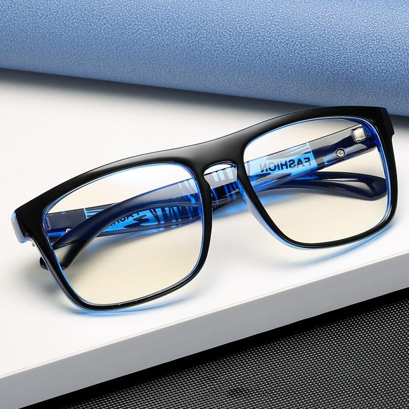 2021 Anti Blue Light Eye Glasses Women Men Optical Glasses Spectacles Vintage Men Eyeglasses Compute