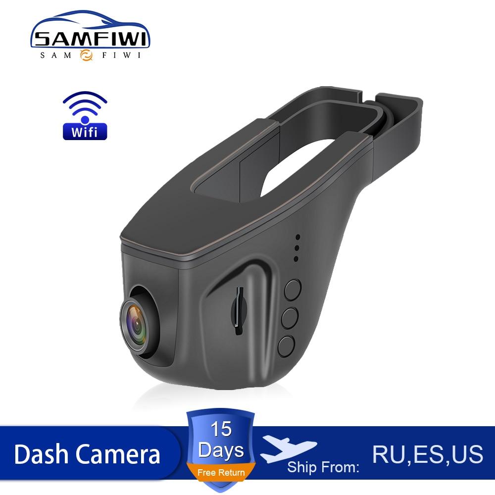 WIFI Car DVR Dash Cam Full HD 1080P Dual lens Night Vision Driving Recorder Video Recording Dash Camera Auto Recorder teyes