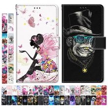 Boys Girls Kids Lovely Phone Bags For Case Samsung Galaxy S9 Plus + S8 S7 S6 S5 Animal Flower Tower