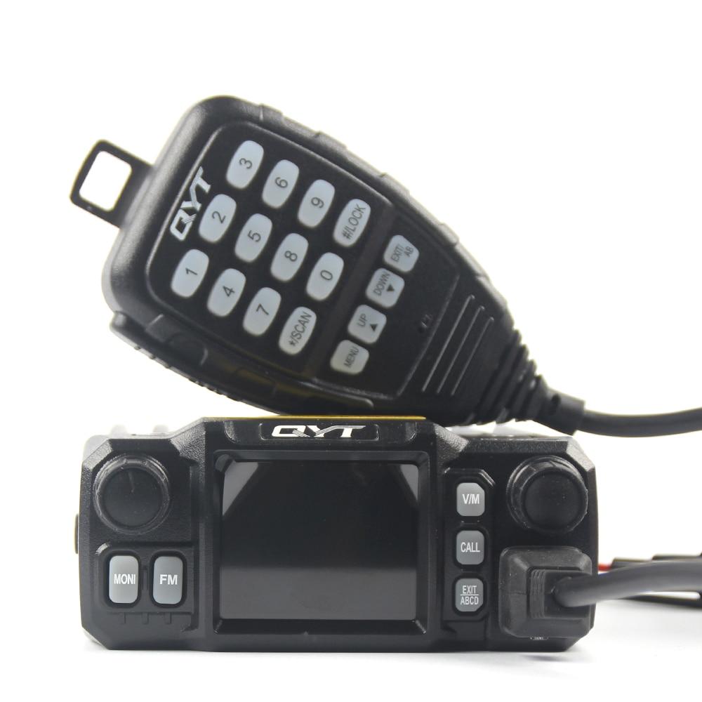 QYT KT-8900D Mobile Transceiver Dual Band Quad Standby VHF/UHF 136-174/400-480MHz Mini Car Radio Amateur (HAM)