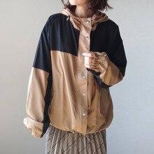 Baseball Jacket Women 2021 Autumn Coat Casual Tops Long Sleeve Lapel Zipper Jackets Thin Ladies Clot