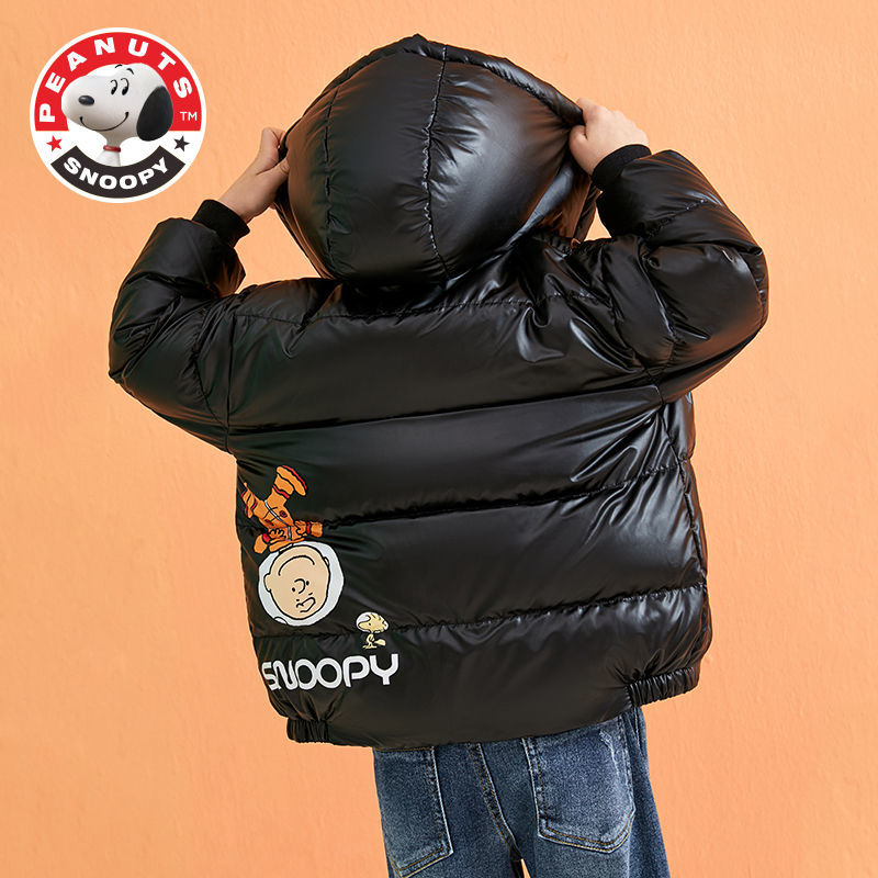 Snoopy Children's Thick Down Jacket Boys and Girls Autumn and Winter Warm Down Jacket enlarge