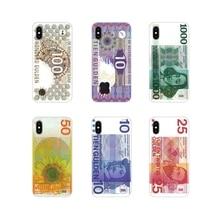 For Samsung Galaxy S3 S4 S5 Mini S6 S7 Edge S8 S9 S10 Lite Plus Note 4 5 8 9 Netherlands Dutch Guilder money Silicone Shell Case