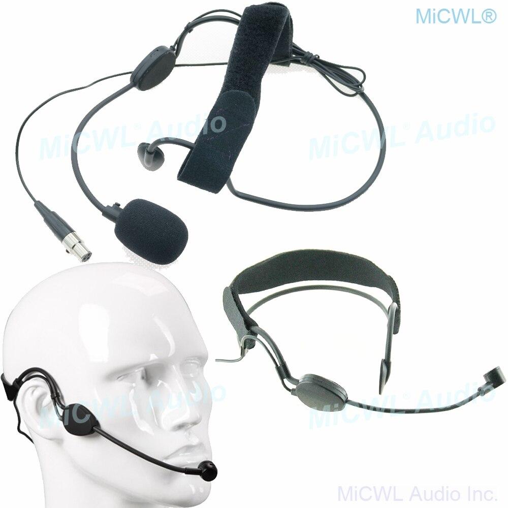 Micrófono condensador de auriculares Pro Big ME3 para AKG Samson sistema de micrófonos inalámbricos de música mini XLR conector TA3F de 3 pines