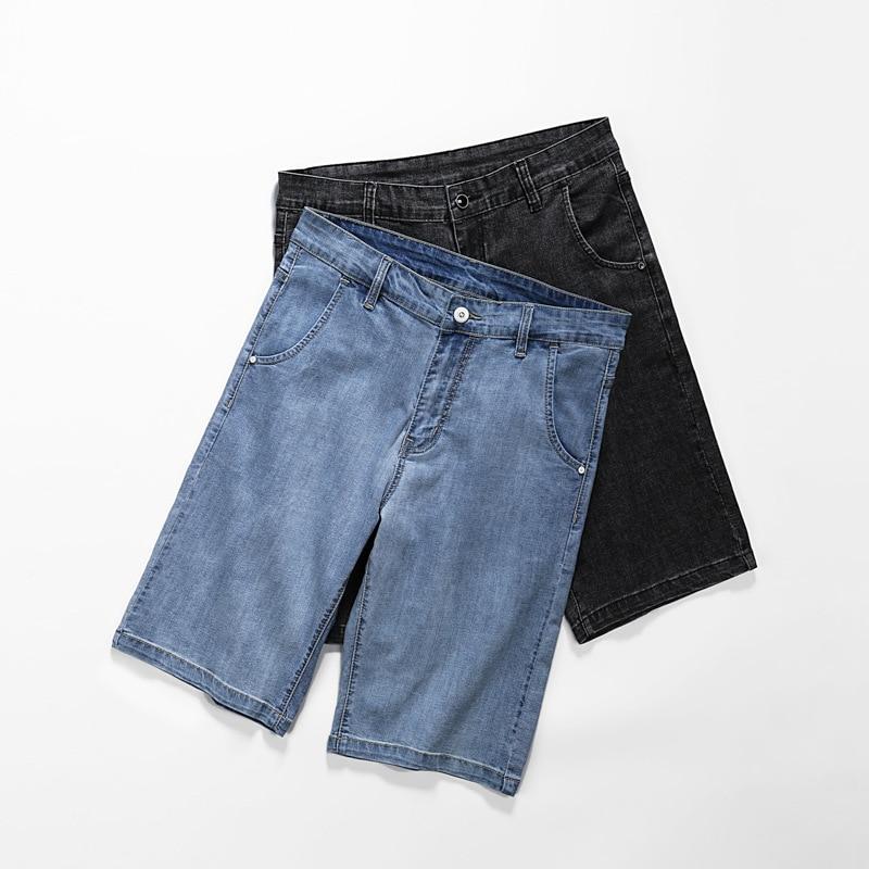 Drect Sell Summer New Big Men's Knee Length Pants High Quality Cotton Shorts Denim Extra Large Super Plus Size L-6XL 7XL 8XL