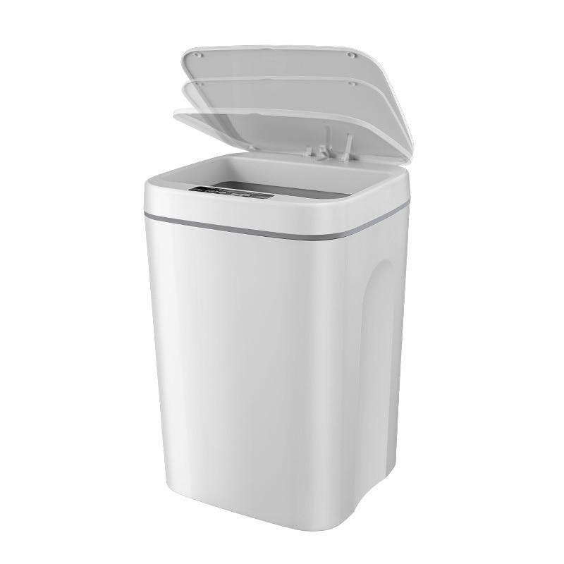 14L Smart Can Home Automatic Inductive Waste Bin Kitchen Bucket Garbage Silent Trash недорого