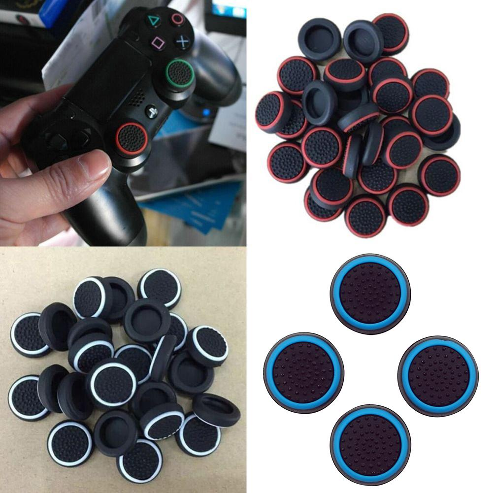 4Pcs Controller Thumb Silicone Stick Grip Cap Cover for PS3 PS4 PS5 XBOX one/360/series x Switch Pro Controllers Game Accessory