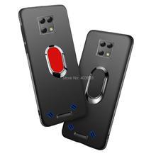 For Blackview Bv9800 Bv9800 Pro Soft Case Cover Finger Ring Magnet Matte Protector Coque On For Blackview Bv9800 Pro