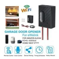Ouvre-porte de Garage intelligent Compatible avec Google Home WiFi porte a distance de telephone intelligent haute compatibilite facilement transporter