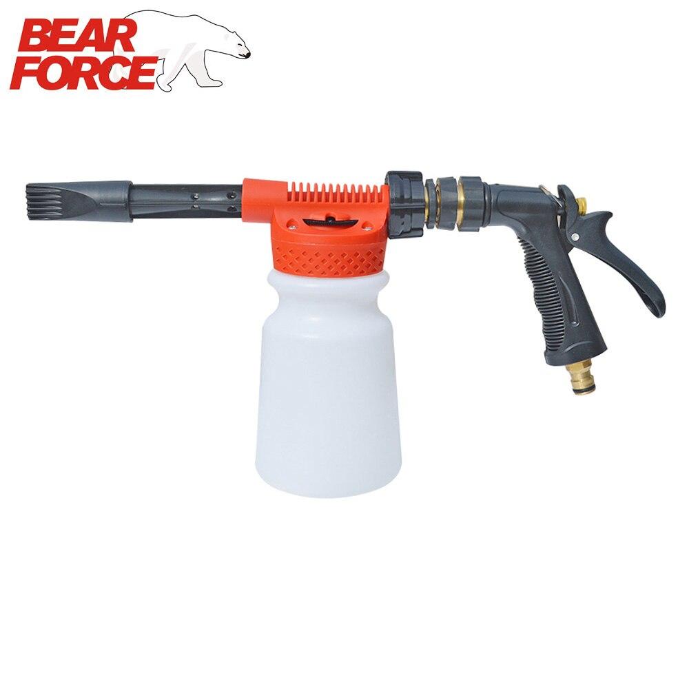 Автомойка, садовый шланг, поролоновый пистолет для чистки автомобиля, пенная насадка для мытья автомобиля, распылитель пены для воды, распылитель пены для крана низкого давления