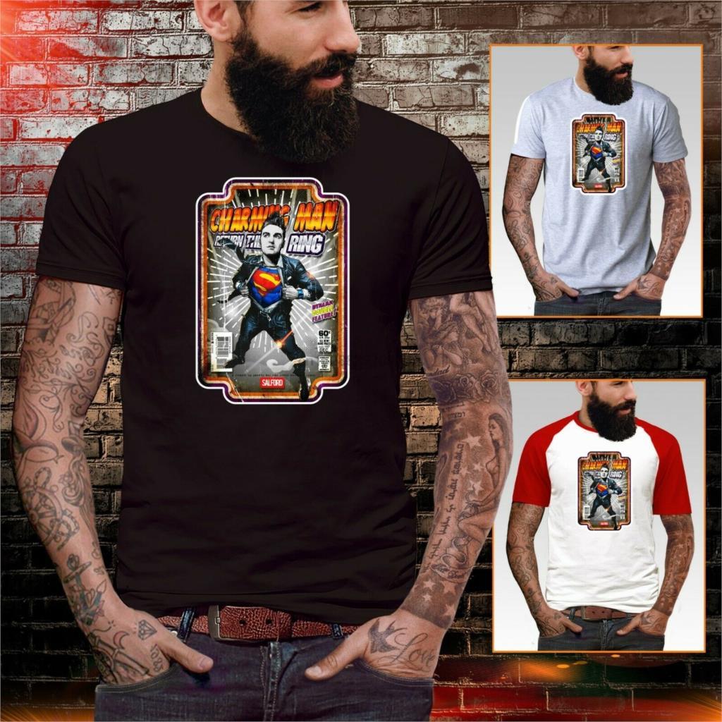 Camiseta Morrissey The Smiths Superman inspirado en arte cómico cartel raro indie para hombre