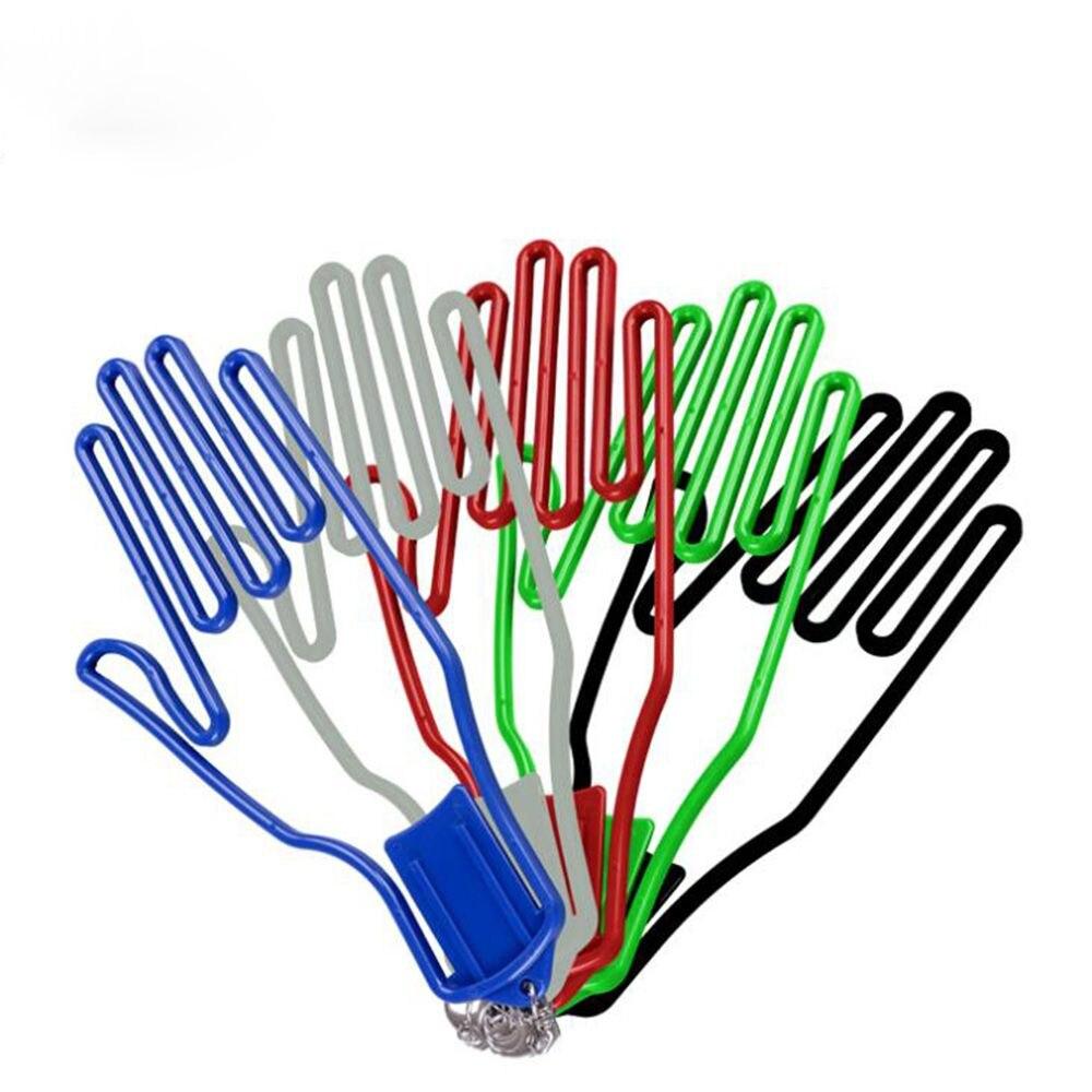 1 ud. Soporte para guantes de Golf de plástico colorido HERRAMIENTA DE golfista estante para guantes colgador secador de Golf herramienta de entrenamiento de Golf suministros para deportes al aire libre