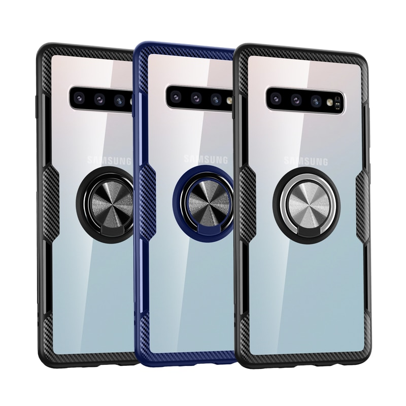 Transparente Para Samsung Galaxy A51 A50 A10 A20 A30 A30S A50S A70 A71 A81 A91 A01 M10 M20 Note10Pro S9 S10 S20Pro Lite Tampa Do Caso