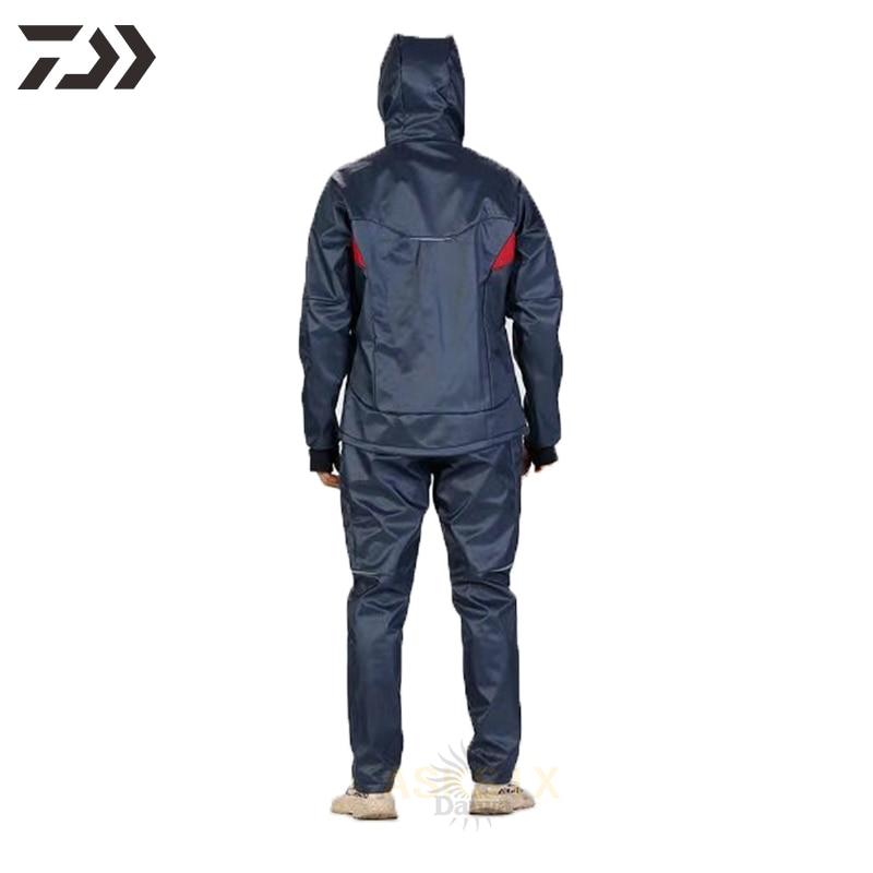2021 Daiwa Fishing Clothing Hooded Spring Coat Fishing Jacket  Waterproof Windproof Outdoor Jackets Soft Shell Sports Clothing enlarge
