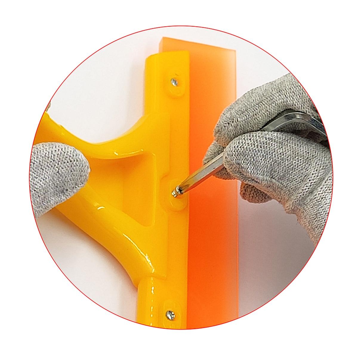 5pcs Car Window Brush Glass Cleaner Wiper Scraper Brush Cleaning Tool Household Water Blade Soap Windshield Brush 5B39 enlarge