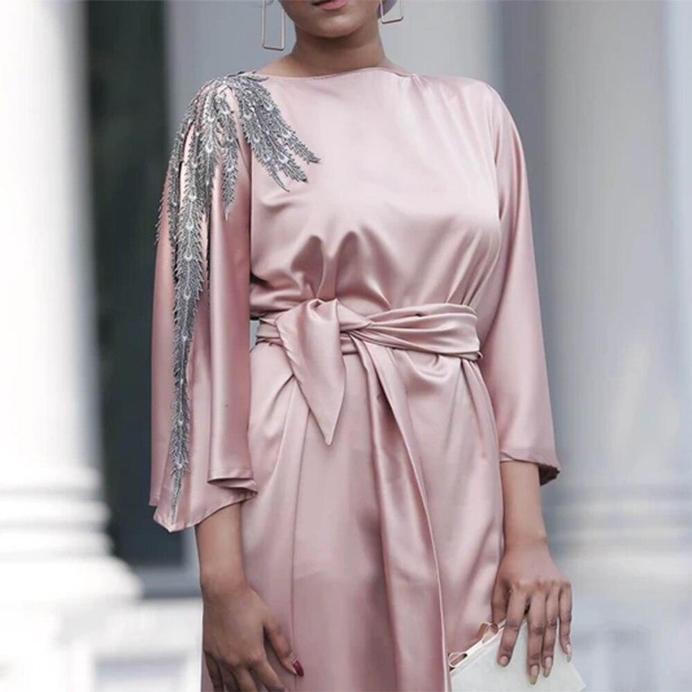 رمضان عيد مبارك مسلم الديكور الحرير الحرير اللباس المرأة العباءة دبي تركيا الإسلام الحجاب اللباس Vestidos رداء Musulmane إسترخاء