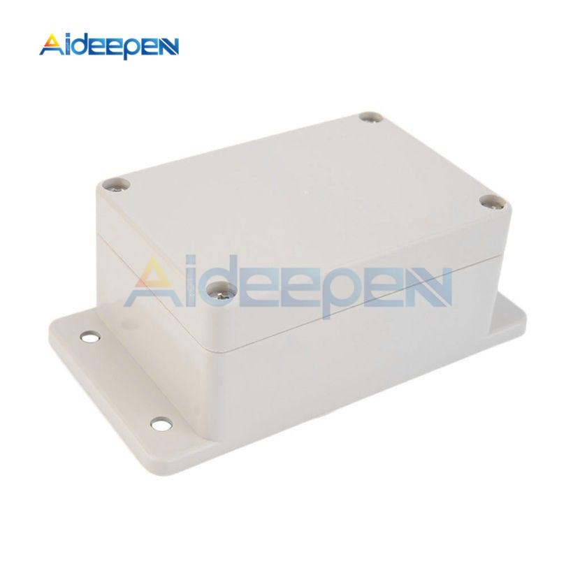 10 pièces 100x68x50mm ABS en plastique étanche jonction fil boîte connecteur électrique projet boîtier boîtes monté boîtier