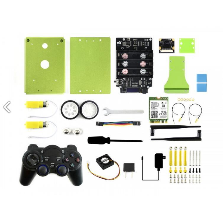 JetBot AI Kit Acce (sin Jetson Nano)JetBot AI Kit de accesorios complementos para Jetson Nano a construir JetBot
