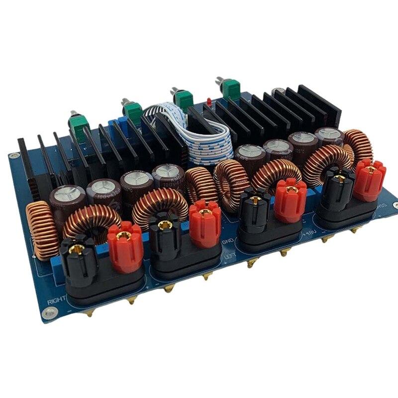 Tas5630 2.1 High Power Digital Power Amplifier Board Hifi Class D Opa1632 600W + 2x300W DC 48V enlarge