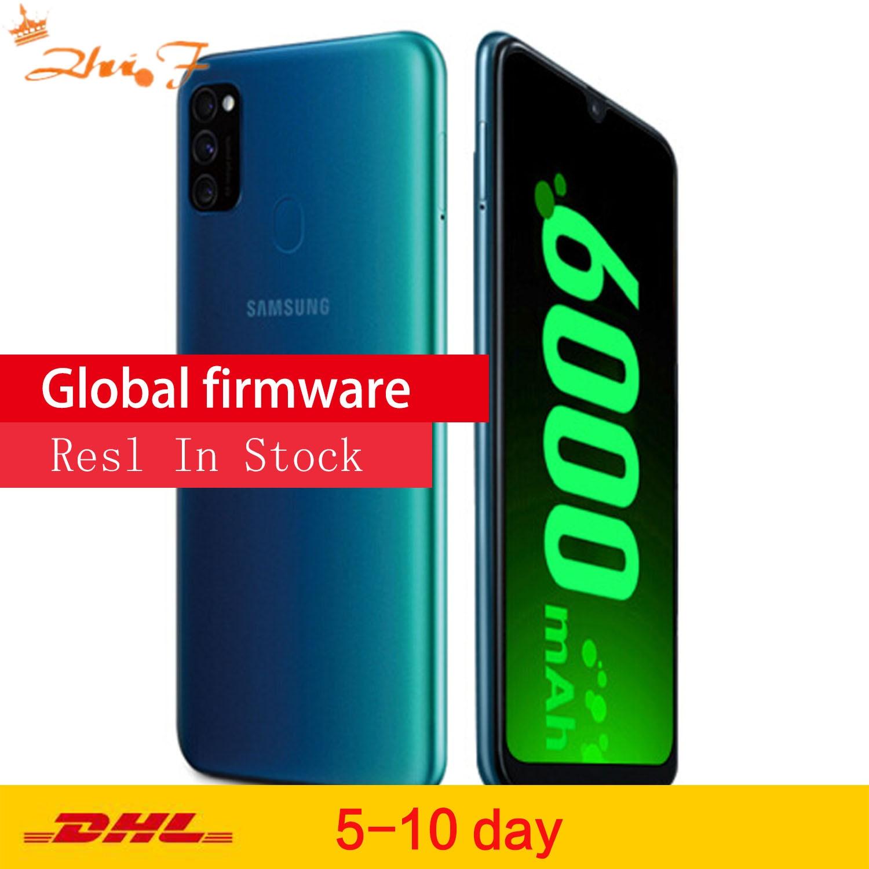 Перейти на Алиэкспресс и купить Samsung Galaxy M30s LTE мобильный телефон 6,4 6G RAM 128 ГБ 6000 мА/ч, 48.0MP Автомобильная камера заднего вида